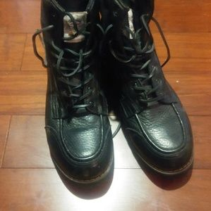 Shoes - Gorilla Mens Boots Black size 11 Leather Shoes